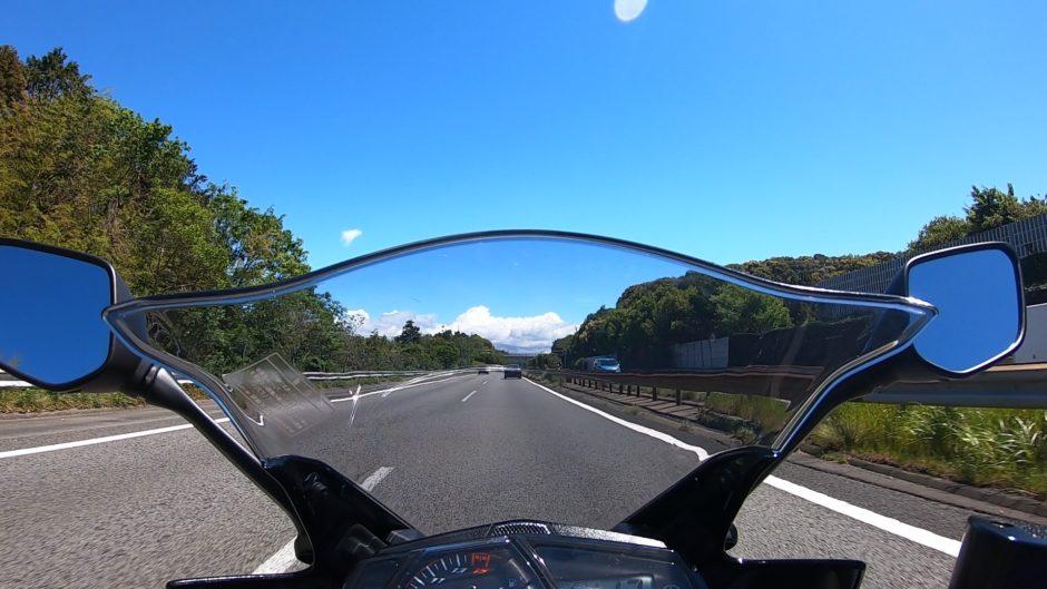 バイクから見た風景