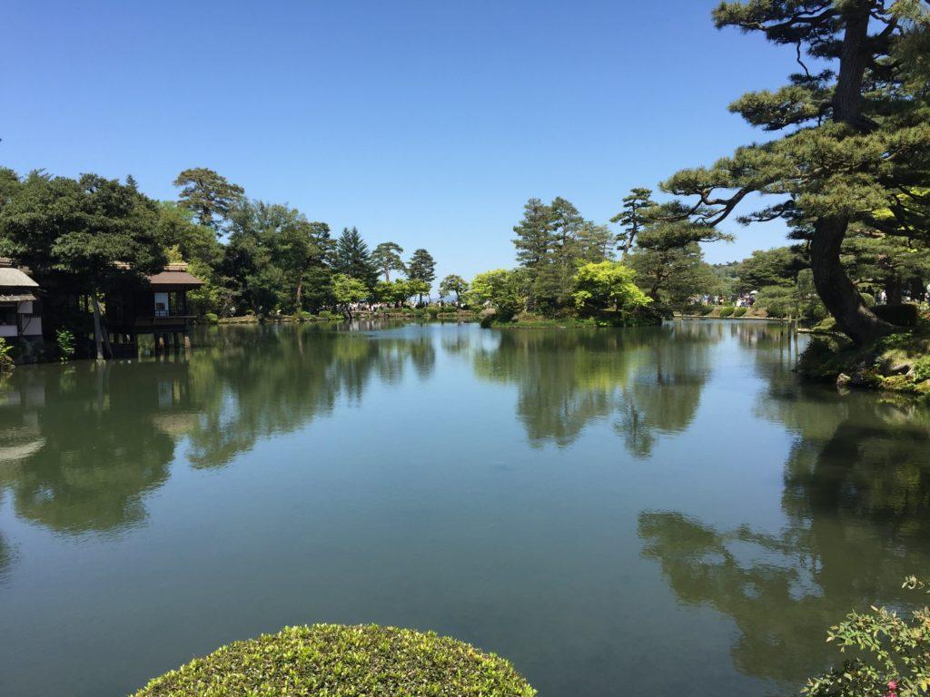 兼六園の庭園