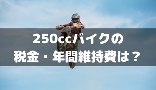 250ccバイクの年間維持費は10万円あればOK?YZF-R25乗りが税金や保険料を計算してみた