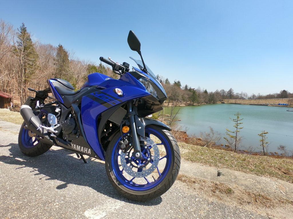 GoPro HERO7で撮影したバイクの画像