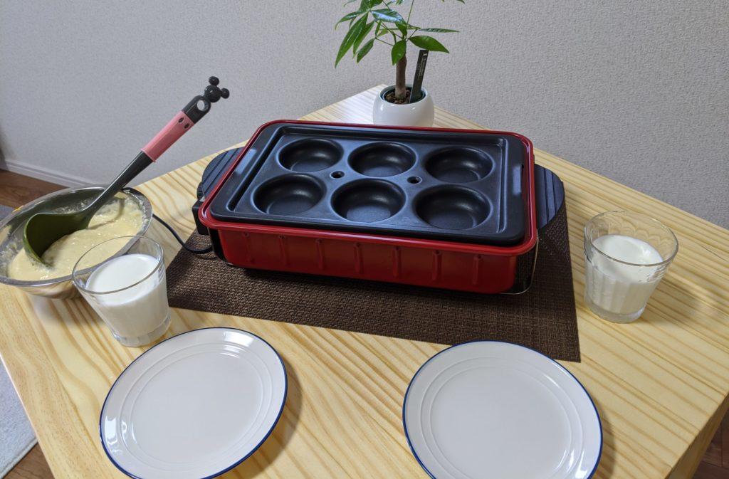 レコルト Home BBQとバラエティプレート使用例